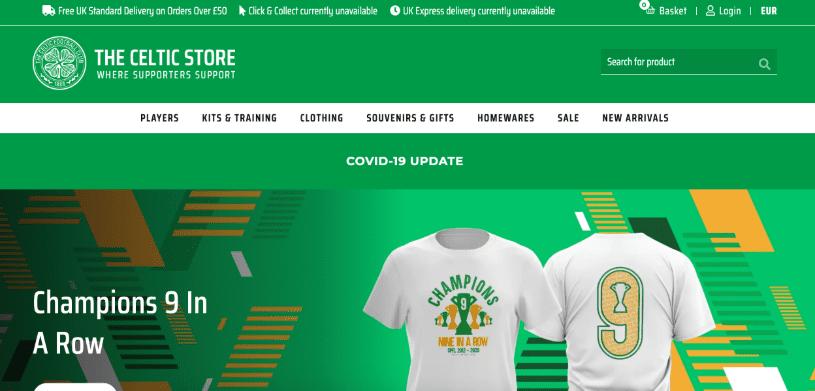 Celtic FC Magento