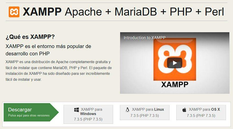 Descargar-Xampp