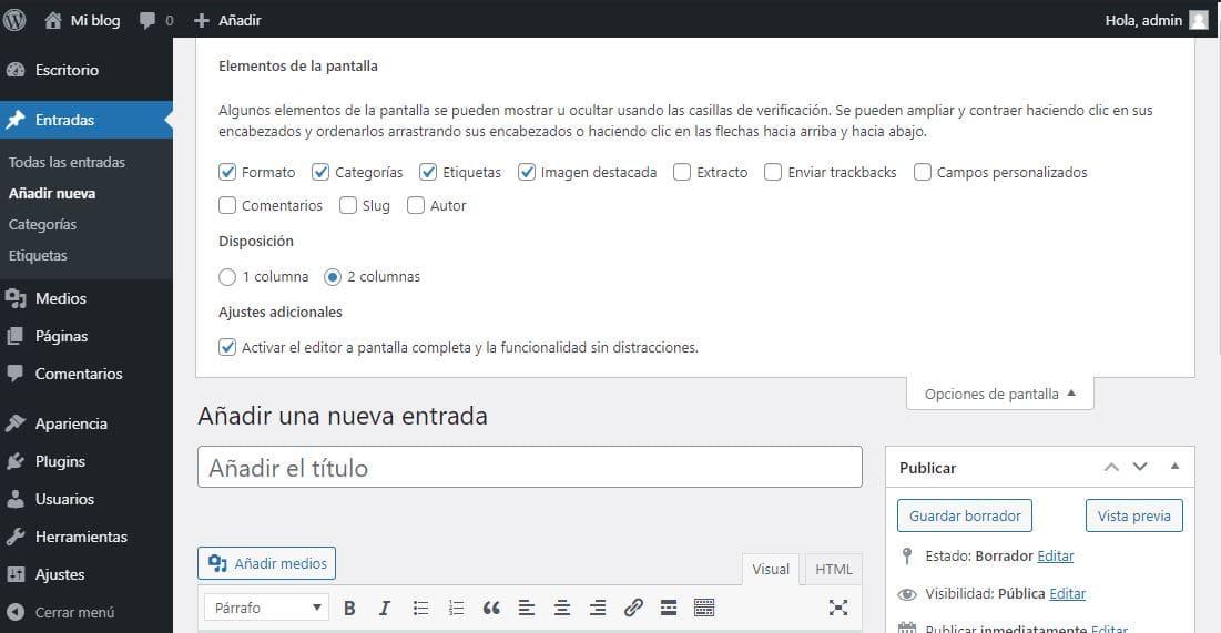 Cambiar el autor de WordPress