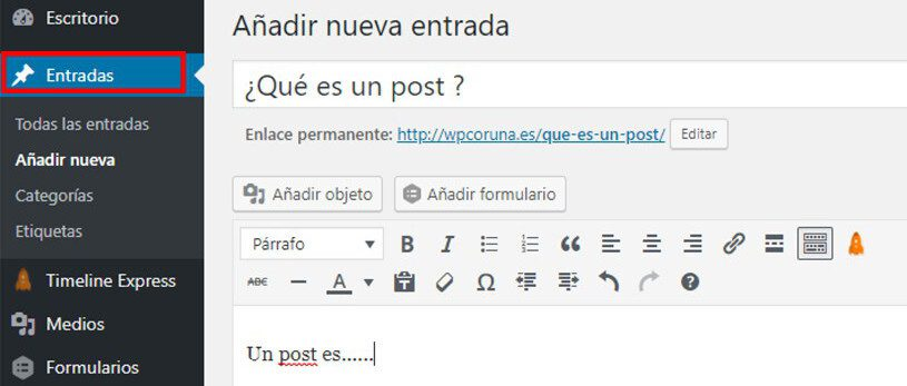 postWordpress