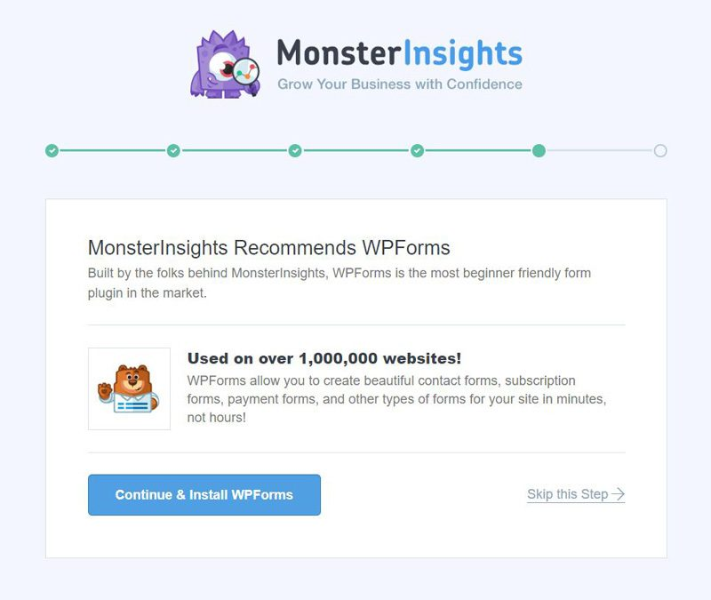 monsterinsights-wpforms