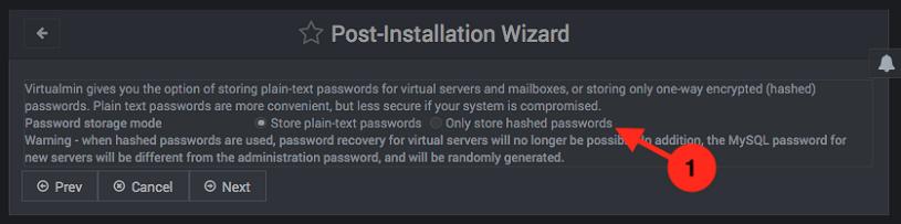 Configuracion inicial de virtualmin - paso 9