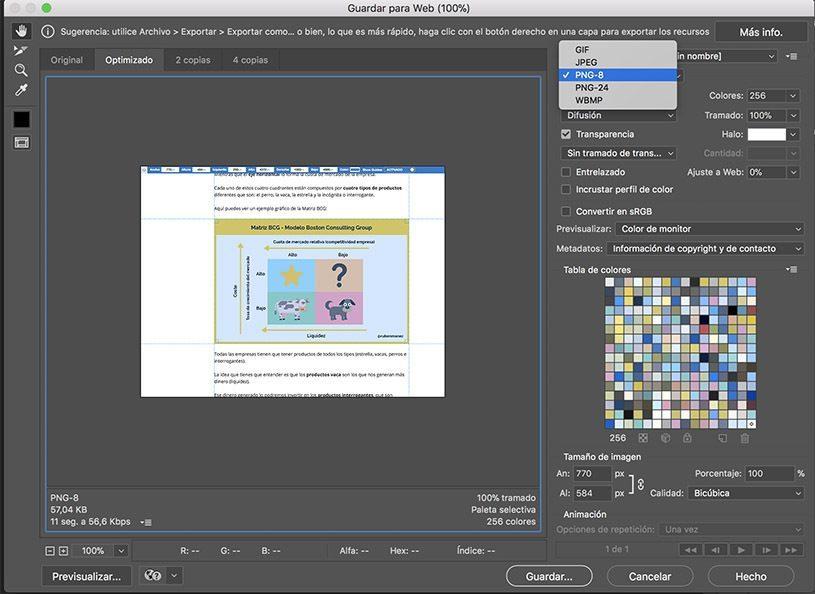 PNG 8 Photoshop Imagen sin fondo o transparente