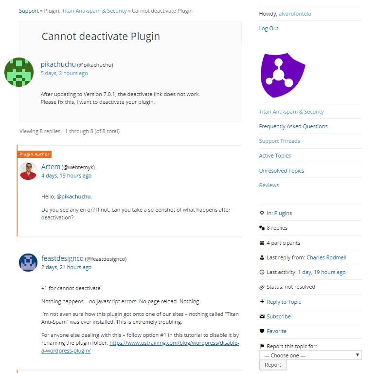 anti spam FTP