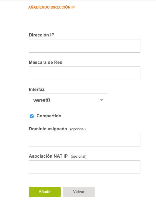configurar IP vesta 4