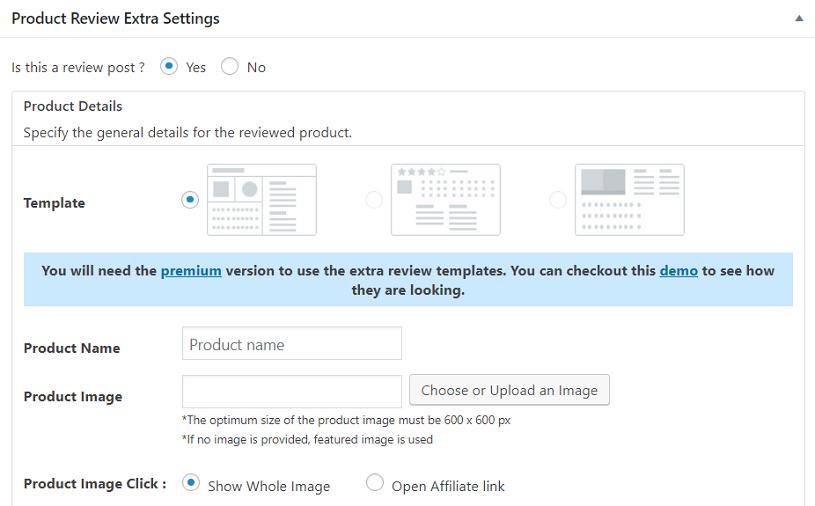 editor funciones WP Product Review Lite plugin testimonios wordpress
