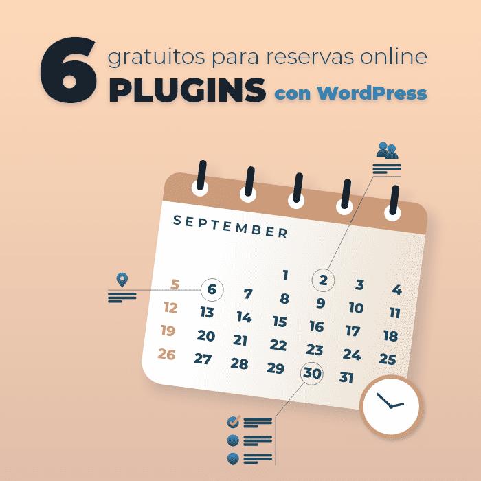 6 Plugins para crear reservas online con WordPress