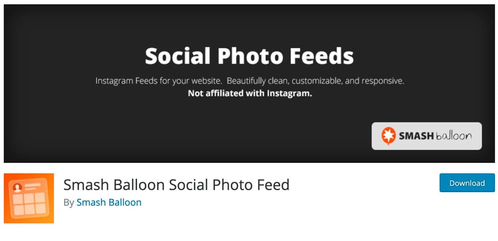 smash ballon social photo feed