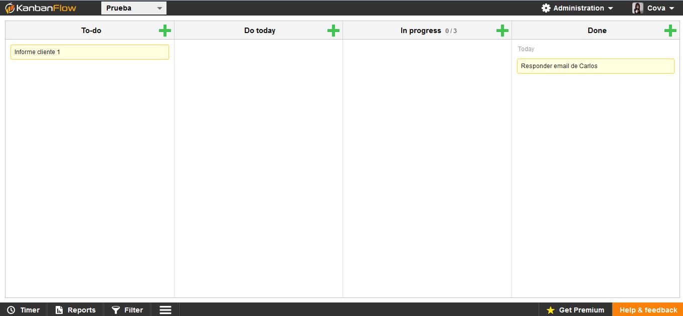 kanbanflow herramientas de productividad personal software
