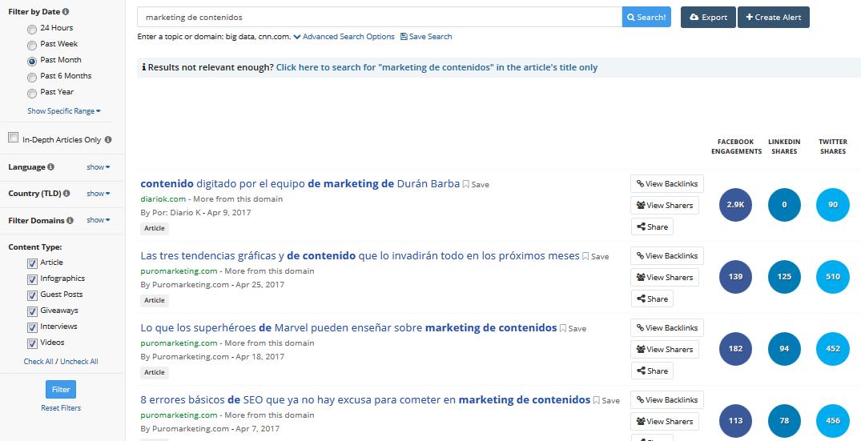 marketing de contenidos ejemplos