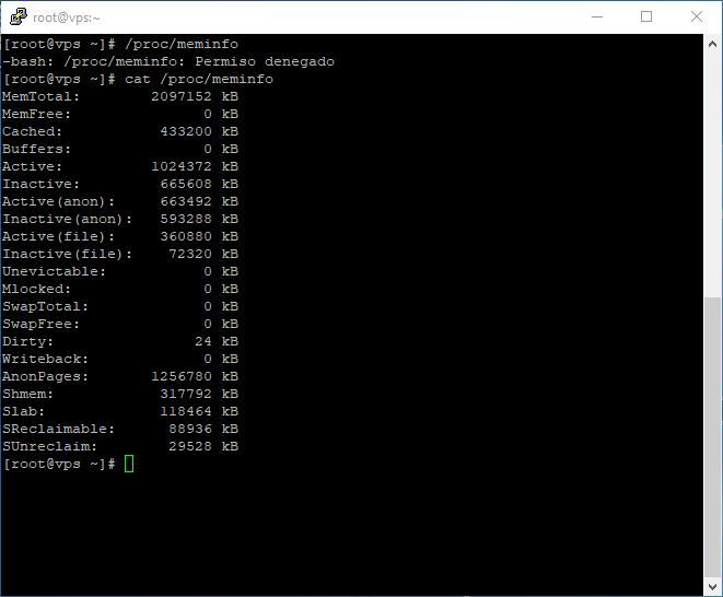 memoria linux RAM