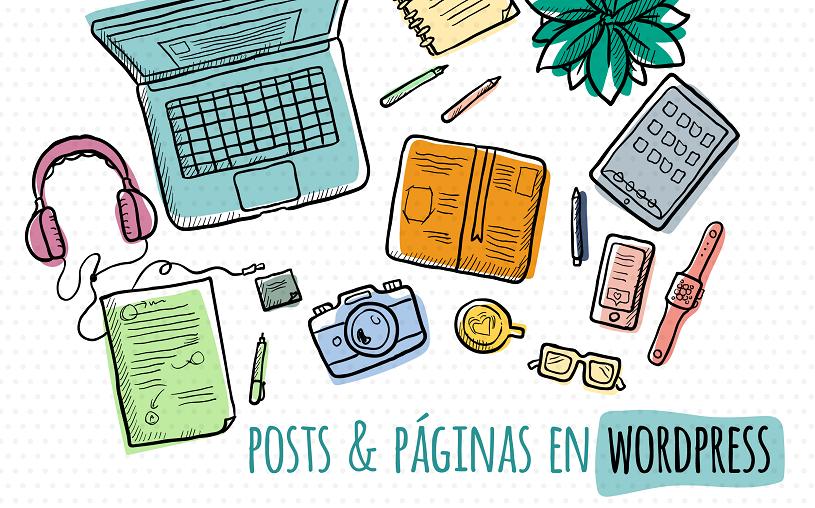 Post WordPress: Qué es y en qué se diferencia de una página