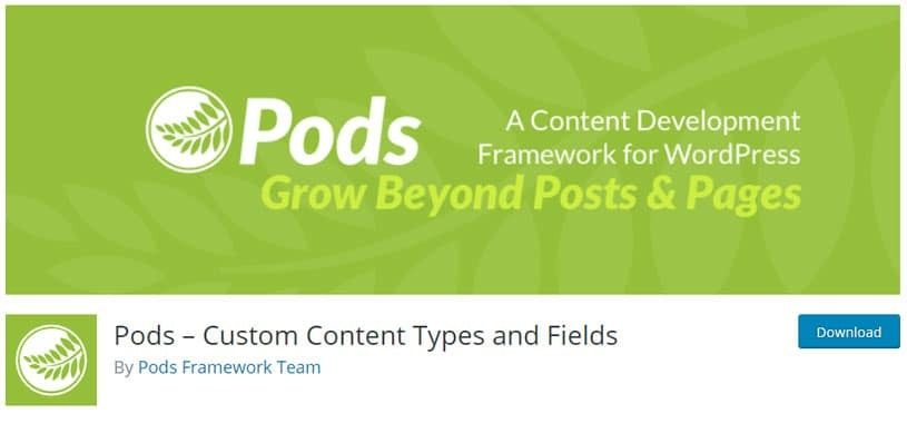 plugin-pods-custom-content-types-and-fields