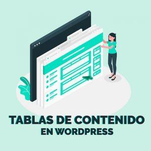 tabla de contenido wordpress