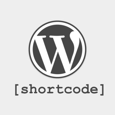 shortcode wordpress
